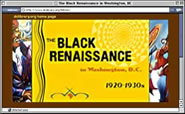 screenshot fro Black Renaissance website